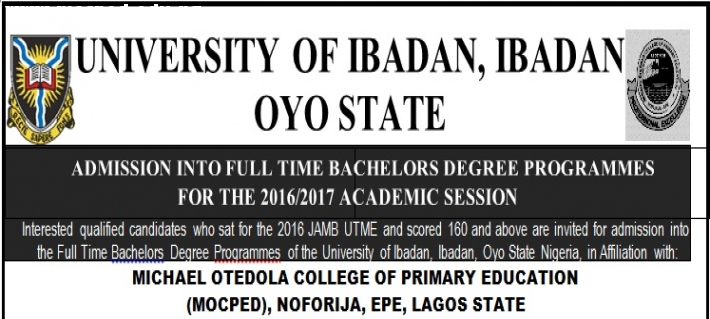 ADMISSION INTO FULL TIME BACHELORS DEGREE PROGRAMMES