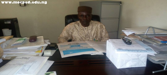 THE ACTING PROVOST, DR. SULAIMAN AKOREDE POPOOLA