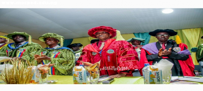 2017/2018 N.C.E Matriculation Matriculation Ceremony