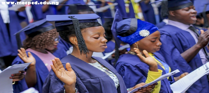 Matriculation Ceremony For The 2017/2018 University Of Ibadan (MOCPED Affiliate) Held On 22/03/2018