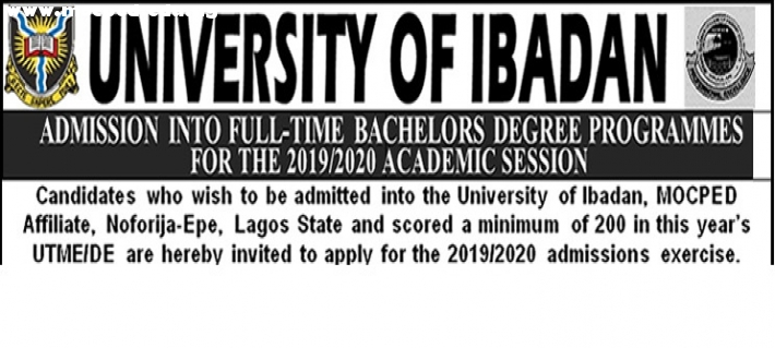 ADMISSION INTO FULL-TIME BACHELORS DEGREE PROGRAMMES
