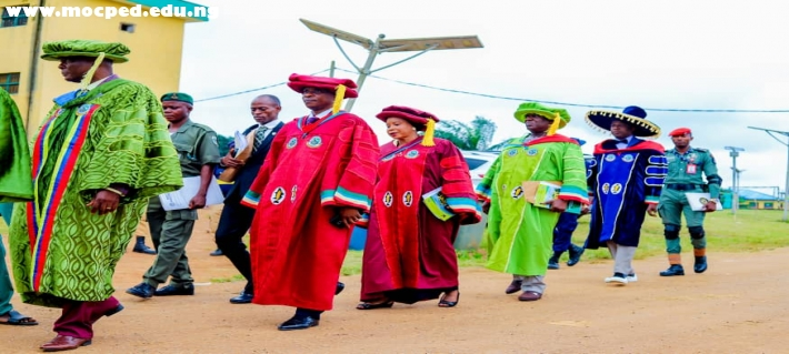 4th Convocation Ceremony Held On Aug 22, 2019