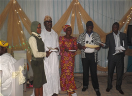 LAGOS STATE GOVERNMENT HONOURS  THE PROVOST WITH AN AWARD