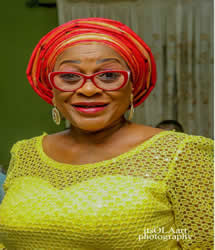 HON. (MRS) YINKA BABALOLA (Member, Governing Council)