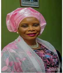 Alhaja Sekinat O. Yusuf  (Chairman Governing Council)